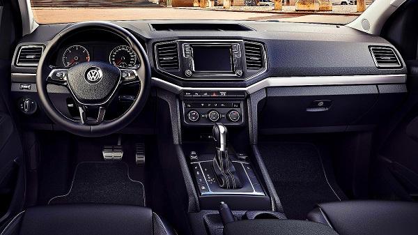 Interior Volkswagen Amarok 2017