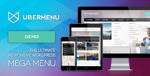UberMenu v3.3 – WordPress Mega Menu Plugin