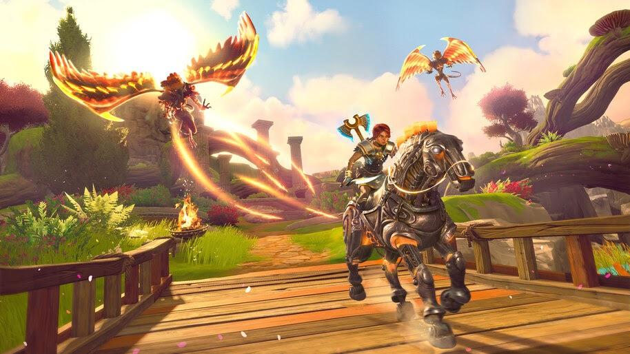 Immortals Fenyx Rising, Riding, Horse, 4K, #7.2770