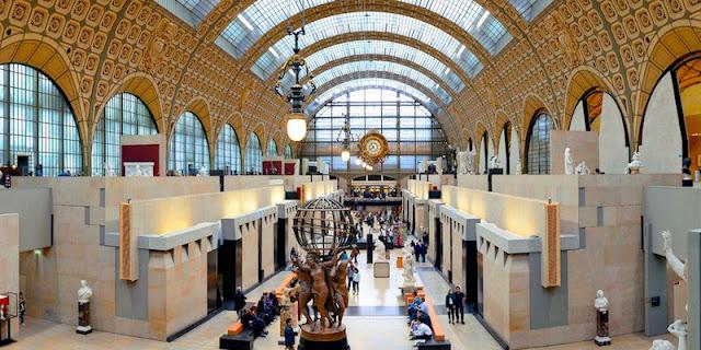 Musee de Orsay Museum, Paris