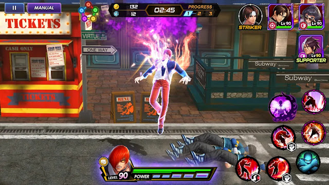 Screenshot The King of Fighters - Apcoid