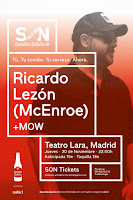 Concierto de Ricardo Lezón y MOW en el Teatro Lara