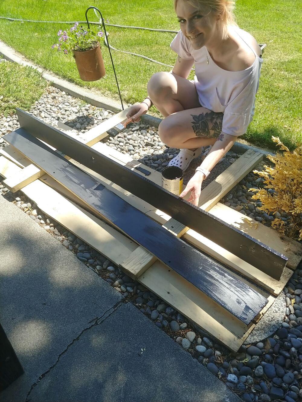 DIY Bed Table
