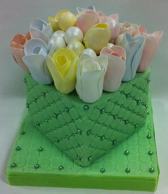 tarta de boda con tulipanes loleta linares blog mi boda gratis