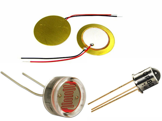 The working principle of this type of active sensor is to produce a change in electrical resistance/resistance, a change in voltage or also a direct electric current when a barrier response is given or an additional response to the sensor (for example, the light/light that goes to the sensor is blocked or added light, the heat on the sensor is reduced or plus etc.).