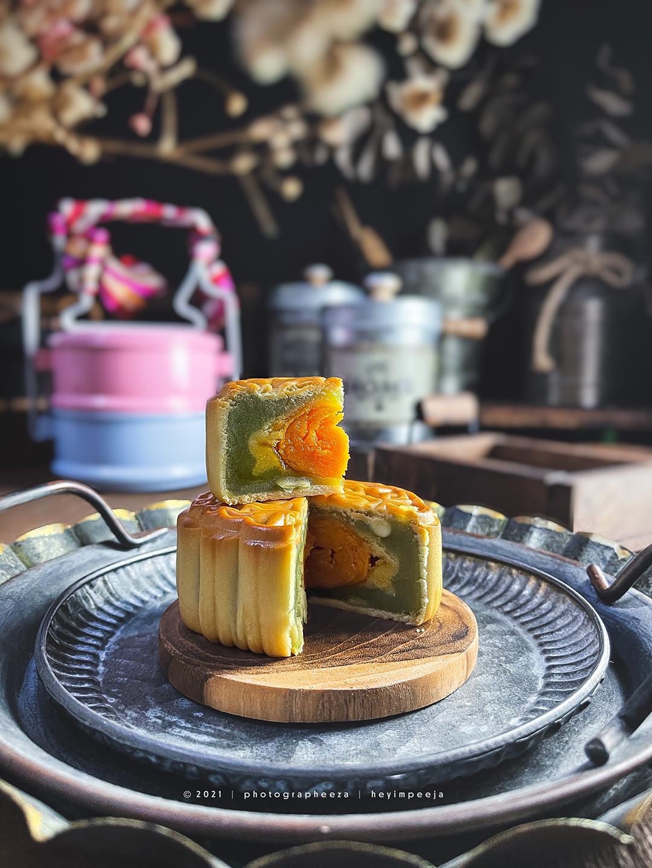 Kuih Bulan (Mooncake) Baker's Cottage Pearl Of Prosperity