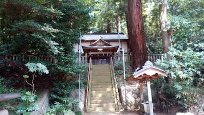 津久井の根小屋諏訪神社