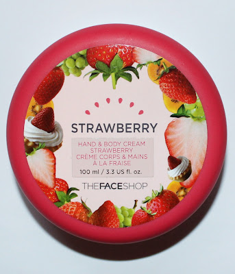 THEFACESHOP Strawberry Hand & Body Cream