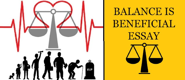 why balance is soo important? | balance is beneficial essay