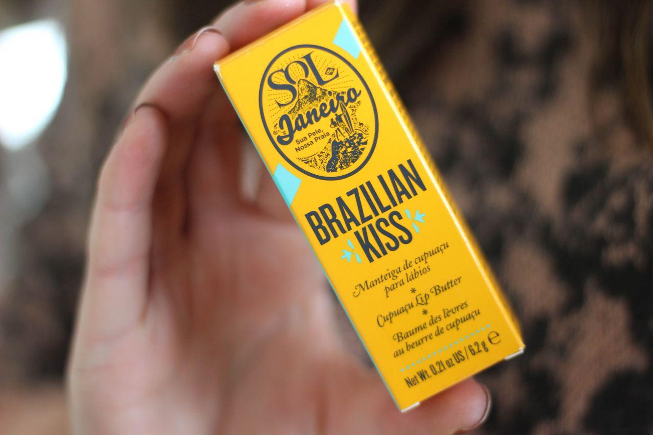 Sol de Janeiro Brazilian Kiss Cupuaçu Lip Butter Packaging