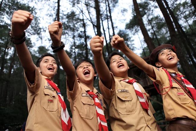 Link download 20 twibbon bingkai foto Hari Pramuka.