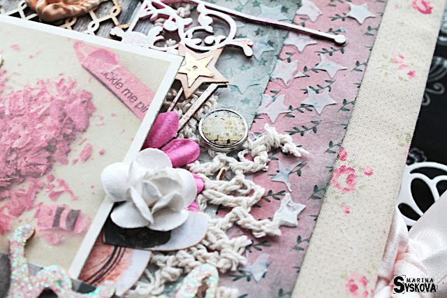 @marinasyskova #scrap #scrapbooking #notebook #vintage #7dotsstudio