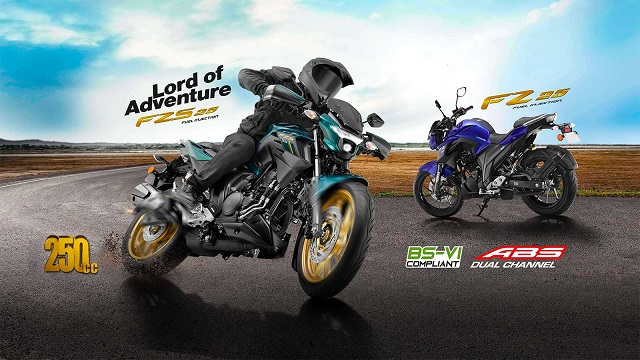 Yamaha FZ 25 BS6 and FZS 25 BS6 Price & Features