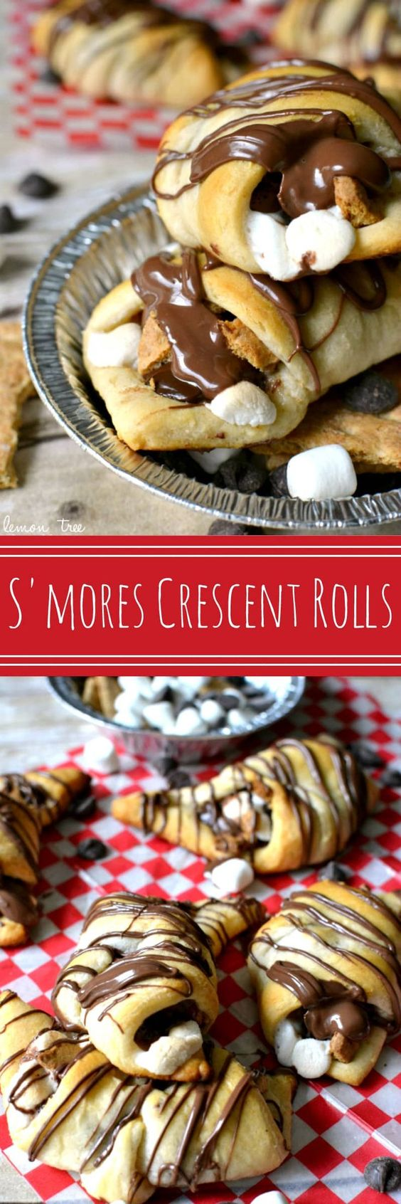 S'mores Crescent Rolls