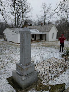 James family farm and Jesse James' grave