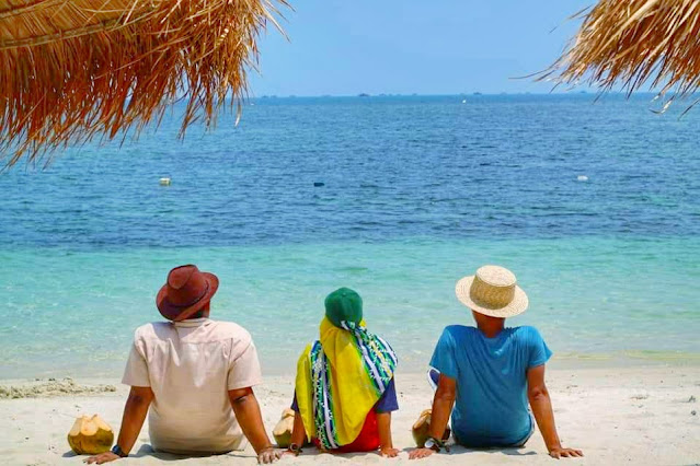 Pantai Madu Tiga Trikora Bintan