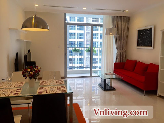 1 Bedrooms Apartment for rent in Vinhomes Central Park