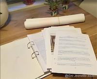 Manuskriptet er fremdeles  under redigering... (Foto: G. J. Nilsen)