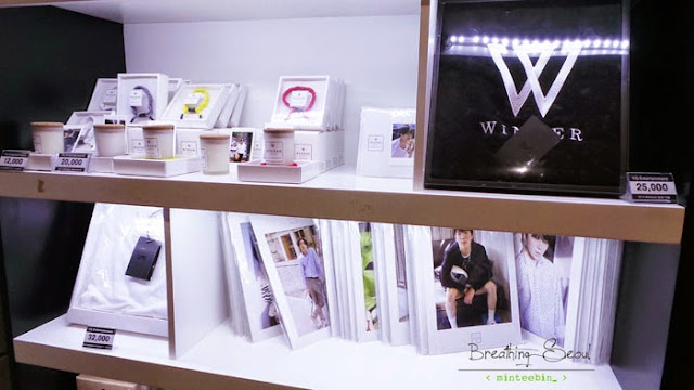 winner YG pop up store
