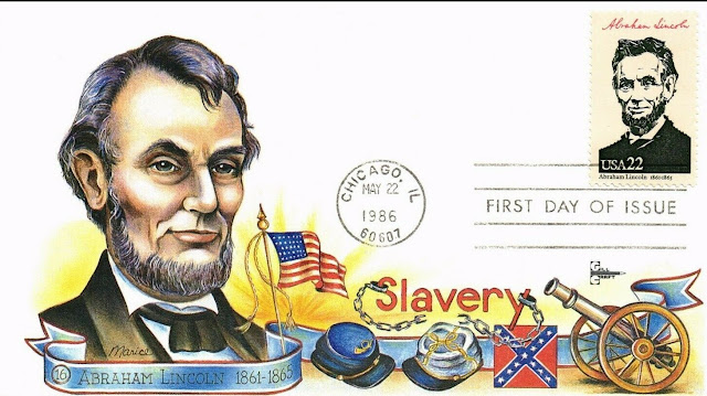 Abraham Lincoln FDC