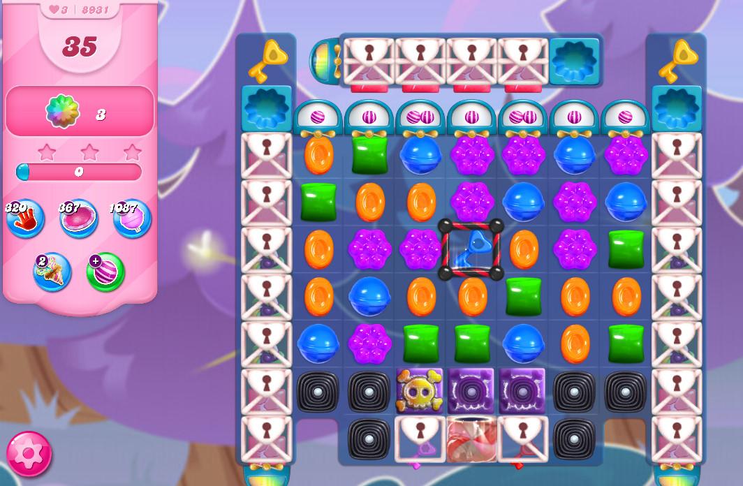 Candy Crush Saga level 8931