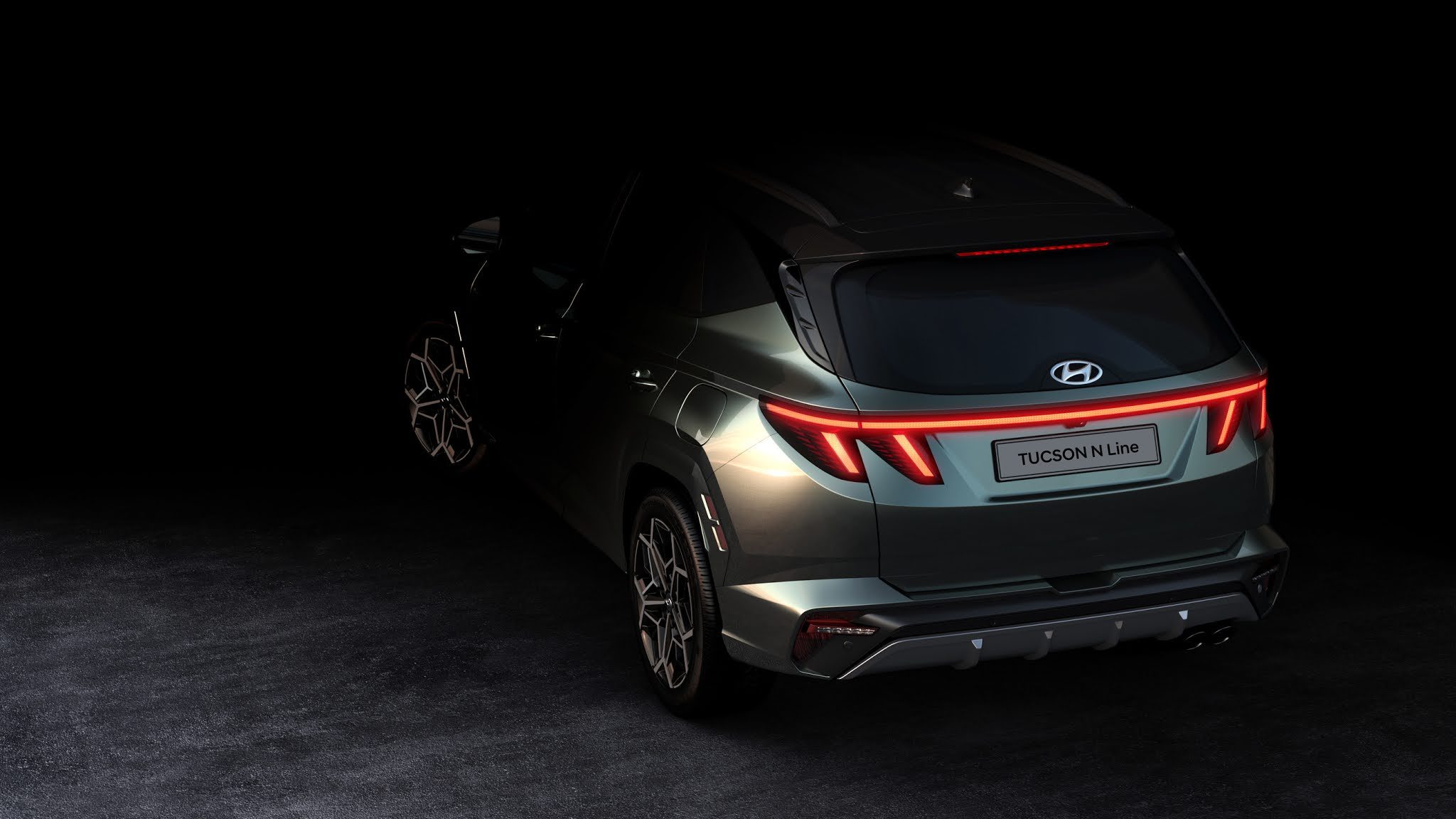 Hyundai Reveals Tucson N Line Teasers, Sustaining Aggressive N brand Expansion through 2022