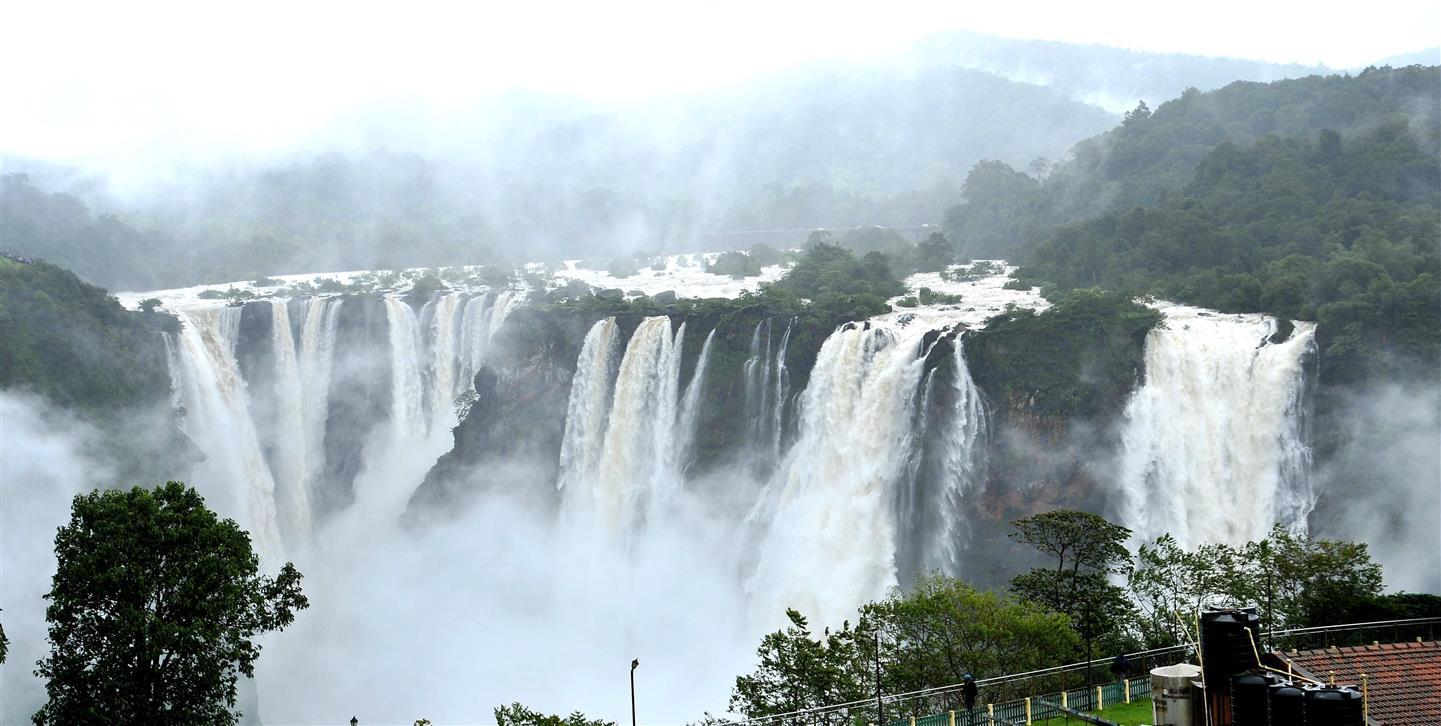 Jog Falls Wallpapers Desktop Nohkalikai Falls And Jog Falls
