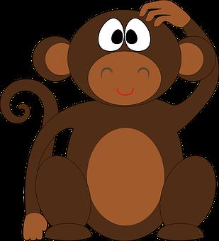 Sher ki Kahani:- Lion Hindi story with moral where monkey is thinking