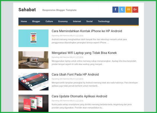 Sahabat-AMP-Blogger-Template