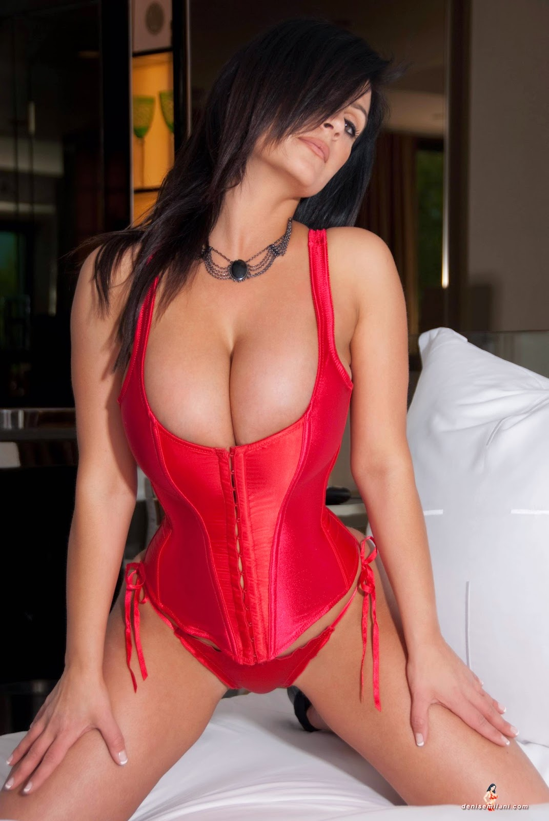 hot red corset denise milani color sexy charlotte springer set archives lingerie blue