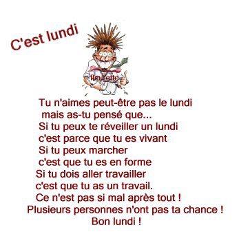 Citations Option Bonheur Citation Sur Le Lundi