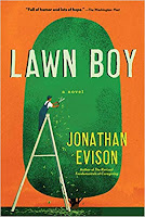 """Lawn Boy"""" by Jonathan Evison (Book cover)"""