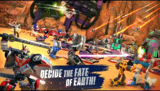 Game Transformers : Eart Wars