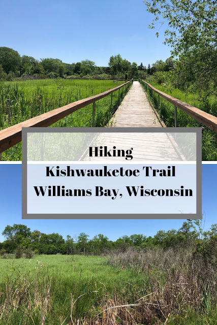 Reveling in Nature Hiking Kishwauketoe Trail in Williams Bay, Wisconsin