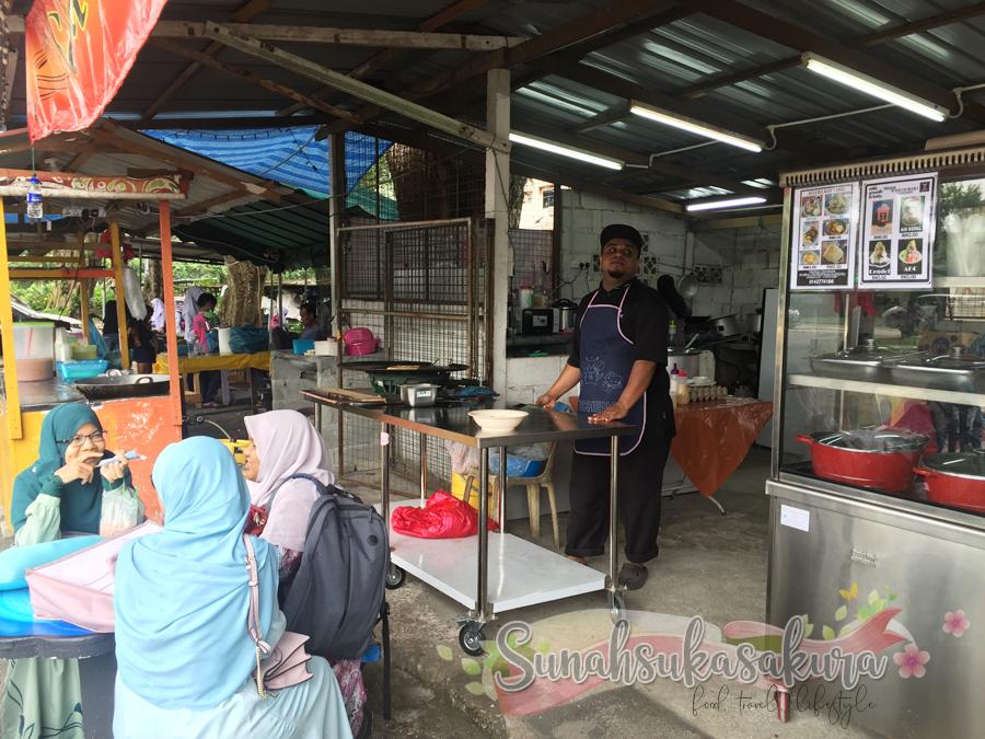 Selera Kodiang, Warung Cempaka 14, Kempas, Johor