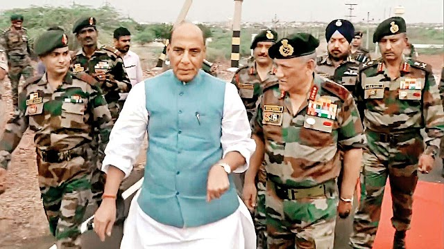 Defence Minister approves major proposals for re-organisation of Army Headquarters