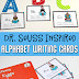 Dr. Seuss Inspired Alphabet Writing Cards