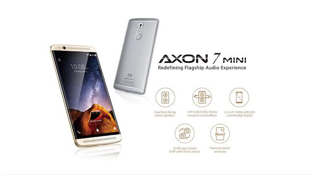ِCoupon ZTE Axon 7 Mini 3/32GB on Gearbest
