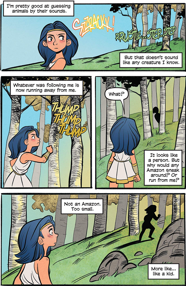 Diana: Princess Of The Amazons - 3