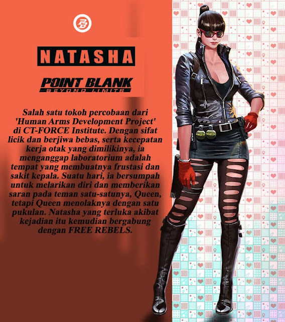 Natasha (Free Rebels) Point Blank Indonesia