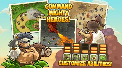 Kingdom Rush Frontiers Mod Apk Unlocked all heroes