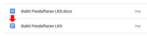 merubah file docx menjadi docs