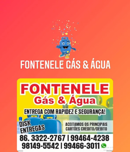 FONTENELE GÁS E ÁGUA MINERAL EM PARNAÍBA