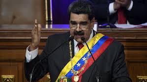 El presidente de la paz Nicolás Maduro