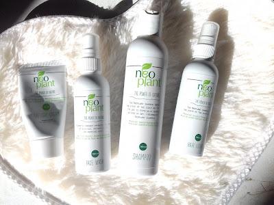 Neoplant Lotion do włosów oraz Naturalny szampon do włosów