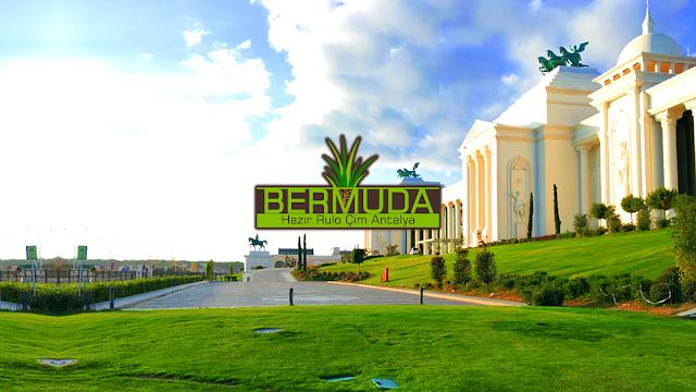 HAZIR RULO ÇİM OTEL PEYZAJI ANTALYA Bermuda