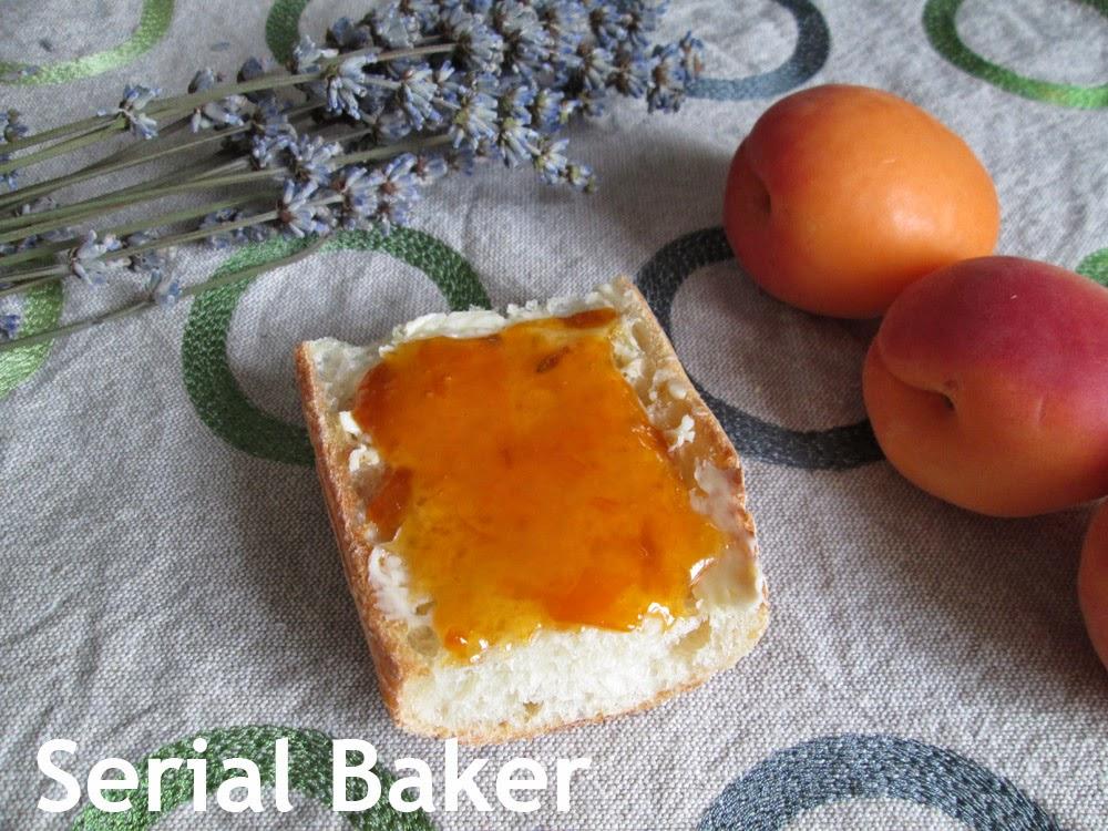 serial baker confiture d abricot a la lavande