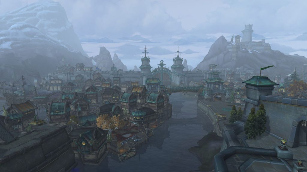 Kul Tiras - Alliance players have a portal.