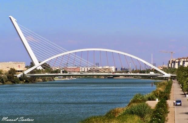 Siviglia, Ponti della Barqueta e dell'Alamillo