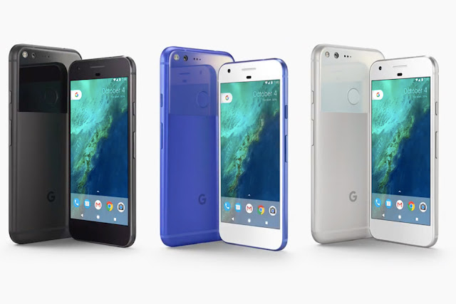 Google Pixel Smartphones made exclusively by google. Flagship smartphone of 2016
